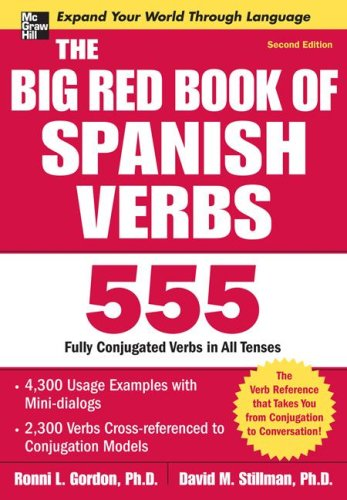 Big Red Book of Spanish Verbs  2nd 2009 edition cover