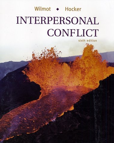 Interpersonal Conflict  6th 2001 edition cover
