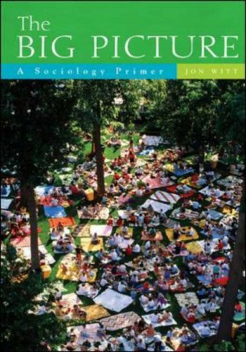 Big Picture A Sociology Primer  2007 edition cover