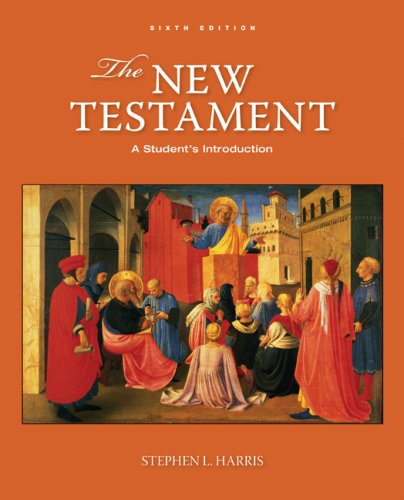 New Testament A Student's Introduction 6th 2009 edition cover