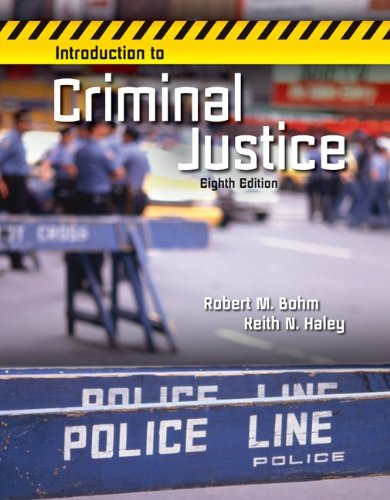 Introduction to Criminal Justice:   2013 9780078026539 Front Cover
