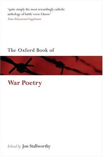Oxford Book of War Poetry   2008 edition cover