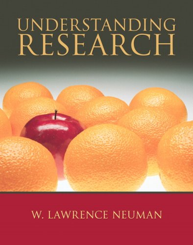 Understanding Research   2009 edition cover