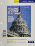 New American Democracy, the, Books a la Carte Edition  7th 2011 9780205781539 Front Cover