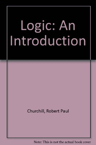 Logic : An Introduction 2nd 9780312023539 Front Cover