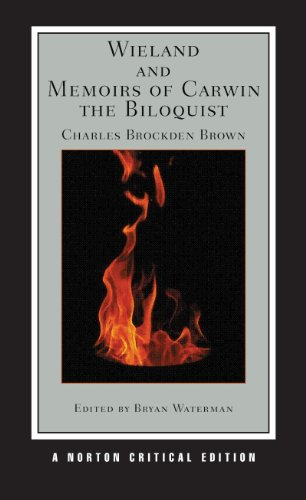 Wieland and Memoirs of Carwin the Biloquist   2010 edition cover