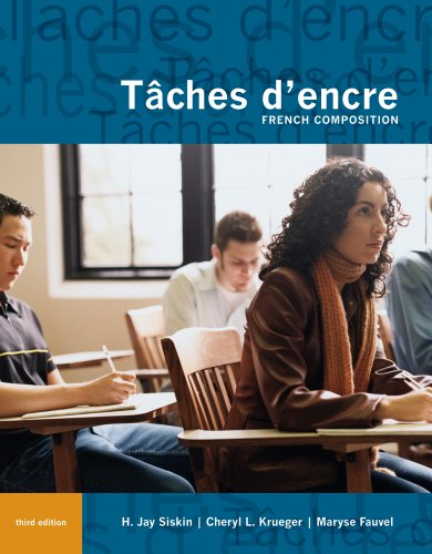 T�ches d'Encre French Composition 3rd 2012 edition cover