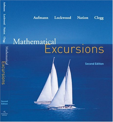 Mathematical Excursions  2nd 2007 edition cover