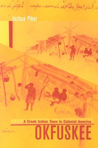 Okfuskee A Creek Indian Town in Colonial America  2004 edition cover