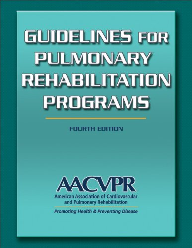 Guidelines for Pulmonary Rehabilitation Programs  4th 2011 edition cover