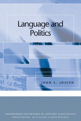 Language and Politics   2006 9780748624539 Front Cover