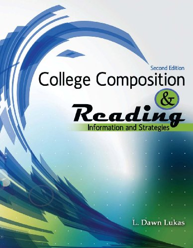 College Composition and Reading Information and Strategies 2nd (Revised) edition cover