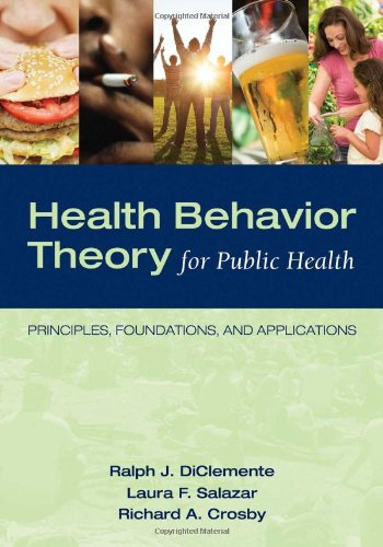 Health Behavior Theory for Public Health Principles, Foundations, and Applications  2013 edition cover