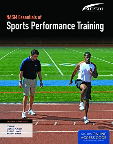 NASM Essentials of Sports Performance Training   2016 edition cover