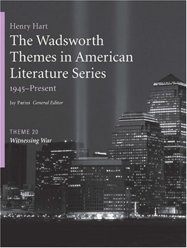 Witnessing War   2009 edition cover