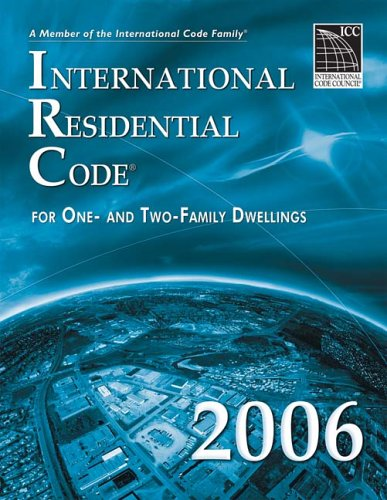International Residential Code For One- and Two-Family Dwellings  2006 edition cover