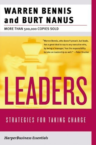 Leaders The Strategies for Taking Charge  2004 edition cover