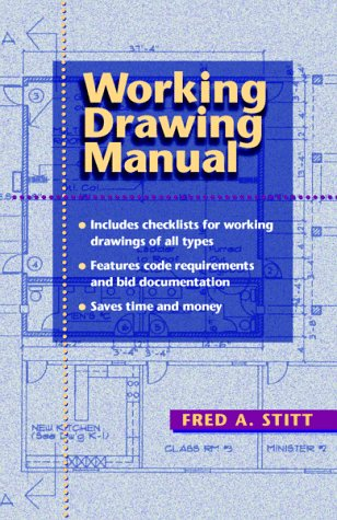 Working Drawing Manual   1998 9780070615540 Front Cover
