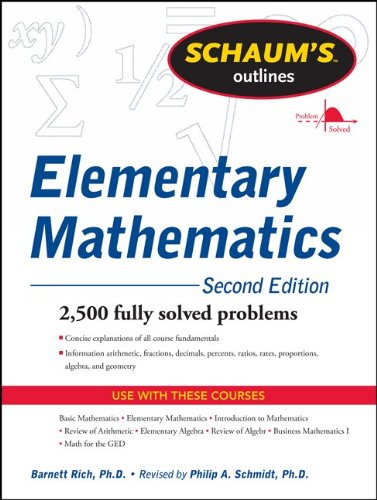 Elementary Mathematics  2nd 2012 edition cover