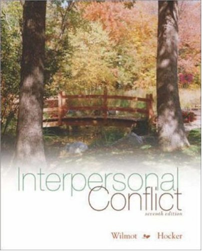 Interpersonal Conflict  7th 2007 (Revised) edition cover