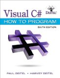 Visual C# How to Program  6th 2017 9780134601540 Front Cover
