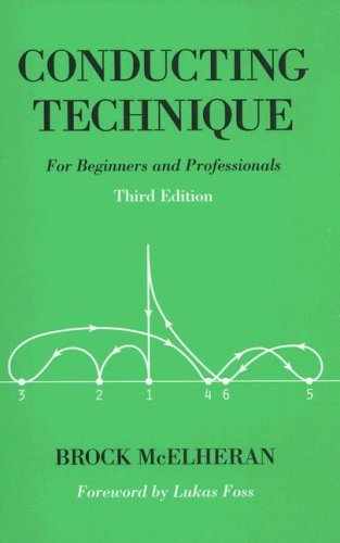 Conducting Technique For Beginners and Professionals 3rd 2004 edition cover