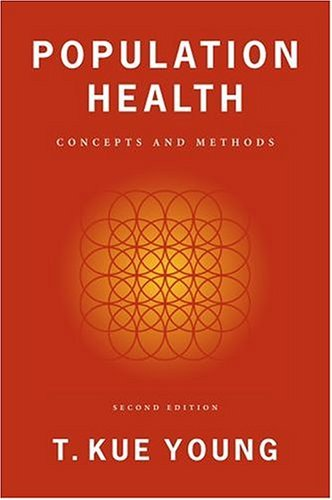 Population Health Concepts and Methods 2nd 2004 (Revised) edition cover
