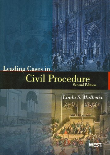 Leading Cases in Civil Procedure  N/A edition cover