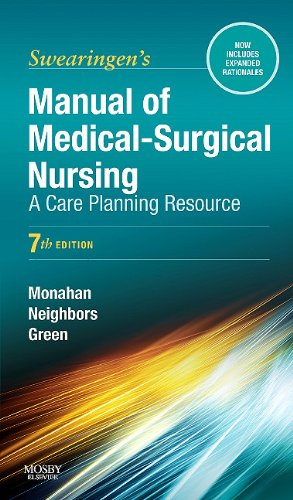 Manual of Medical-Surgical Nursing A Care Planning Resource 7th 2011 edition cover