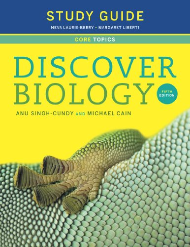 Study Guide For Discover Biology, Fifth Core Edition N/A edition cover