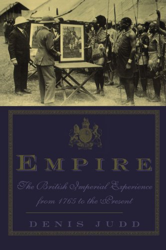 Empire The British Imperial Experience from 1765 to the Present N/A edition cover