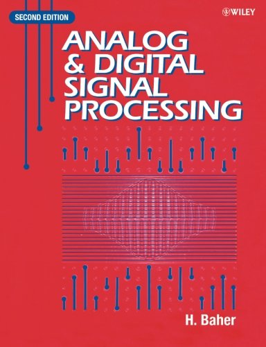 Analog and Digital Signal Processing  2nd 2000 (Revised) 9780471623540 Front Cover