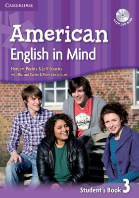 AMERICAN ENGLISH IN MIND LEVEL 3 STUDENT'S BOOK WITH DVD-ROM   2011 (Student Manual, Study Guide, etc.) 9780521733540 Front Cover