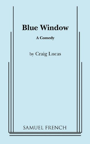 Blue Window A Comedy  1985 edition cover