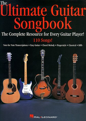 Ultimate Guitar Songbook   1998 edition cover