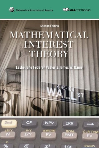 Mathematical Interest Theory  2nd 2009 edition cover