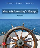 Managerial Accounting for Managers:  4th 2016 9781259578540 Front Cover