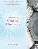 Experiments in General Chemistry:   2014 9781285458540 Front Cover