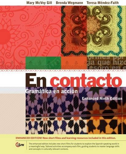 En contacto: Gramática en accion, Enhanced Edition 9th 2014 edition cover