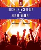 Social Psychology and Human Nature:   2016 9781305673540 Front Cover