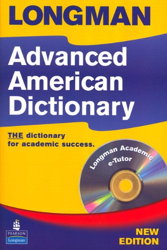 Longman Advanced American Dictionary  2nd 2007 9781405829540 Front Cover