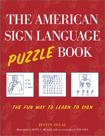 American Sign Language Puzzle Book   2003 9780071413541 Front Cover
