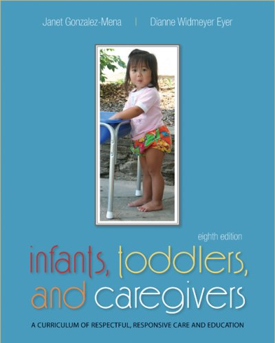 Infants, Toddlers, and Caregivers A Curriculum of Respectful, Responsive Care and Education 8th 2009 edition cover