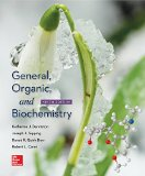 General, Organic, and Biochemistry  9th 2017 9780078021541 Front Cover