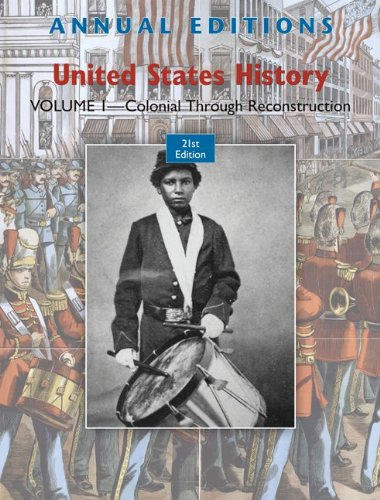 United States History Colonial Through Reconstruction 21st 2011 edition cover