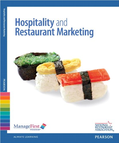 Hospitality and Restaurant Marketing  2nd 2013 (Revised) 9780133052541 Front Cover