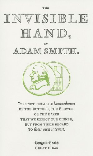 Invisible Hand   2009 edition cover