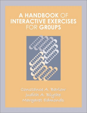 Handbook of Interactive Exercises for Groups   1999 edition cover