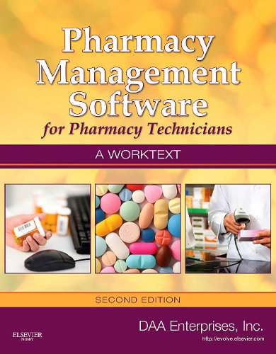 Pharmacy Management Software for Pharmacy Technicians  2nd edition cover