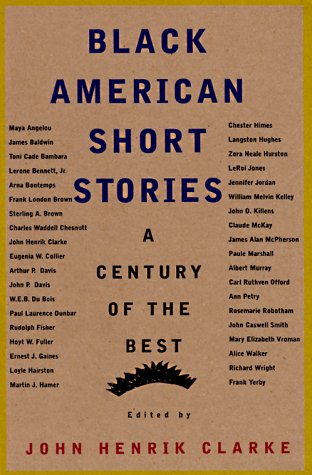 Black American Short Stories  Revised  edition cover
